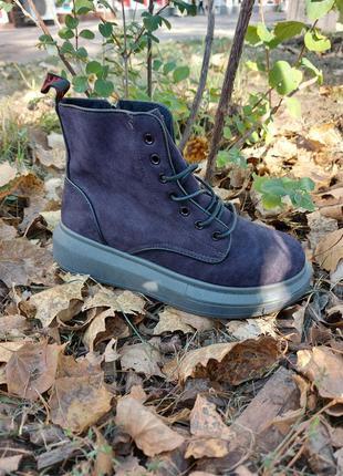 Высокие кеды флис 🌿 кроссовки кеди ботинки на платформе осение деми
