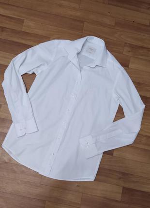 Фирменная белая рубашка
