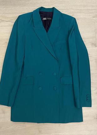 Zara жакет oversize пиджак