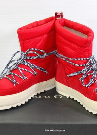 Ботинки marc o'polo. швеция. оригинал. размеры 38, 39.