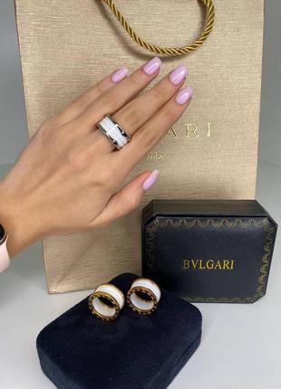 Кольцо женское ювелирная сталь белое брендовое