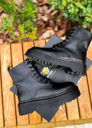 Ботинки чёрные мартенс