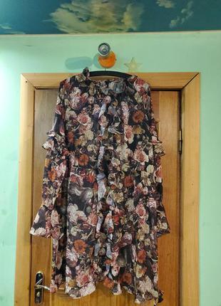 Вечернее платье h&m. 46-52.