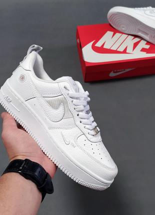 Женские кроссовки nike air force 1 utility white
