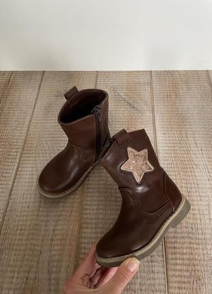 Красиві чобітки на дівчинку, 23 розмір