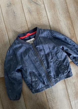 Курточка, бомбер, 1.5-2 роки, h&m