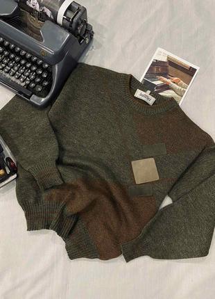Винтажный шерстяной свитерок sm