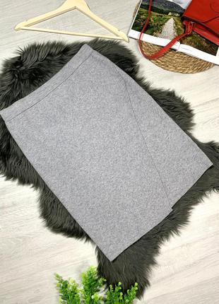 Облегающая юбка плотный трикотаж