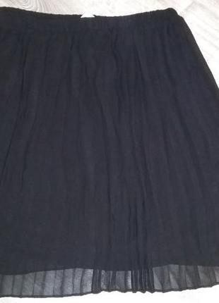 Шифоновая юбка плисеровка