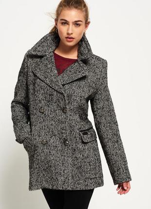 Шерстяний піджак superdry wool роз m-s🔥🔥🔥