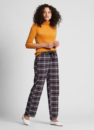 Фланелеві штани uniqlo