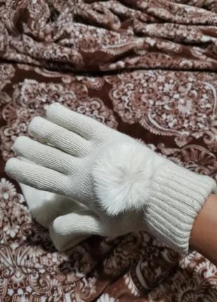 Перчатки зимние новые