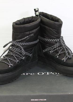 Ботинки marc o'polo flat heel. оригинал. размер 36.
