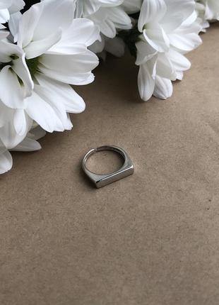 Посеребрённое кольцо