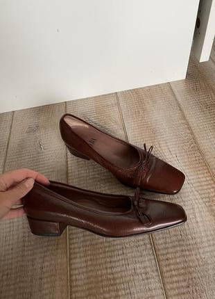 Базові туфлі, лодочки, мері джейн, квадратний носок, винтаж