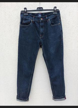 Джинсы с высокой посадкой, джинсы мом