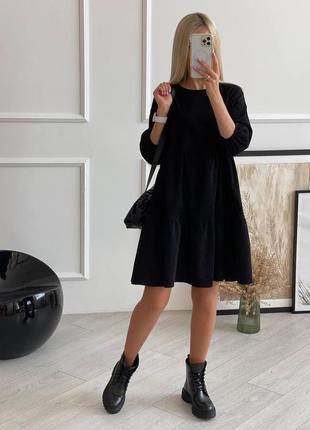Платье женское вельветовое свободного кроя размеры 42-52