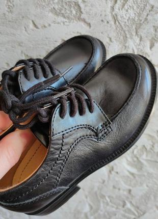 Туфли натуральная кожа на мальчика размеры 24-26