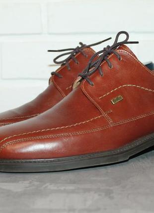 Комфортные кожаные туфли gallus 43-43,5 размер 100% натуральная кожа