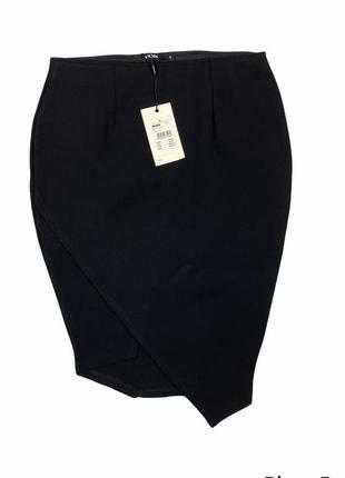 Супер эффектная юбка по фигуре с ассиметричным низом