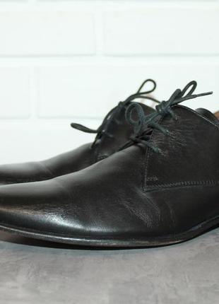 Оригинальные кожаные туфли dolce&gabanna 42,5-43 размер