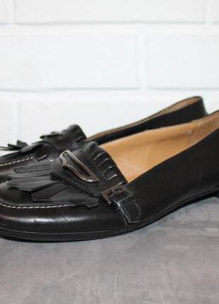 Triver стильные кожаные туфли 36,5-37 размер