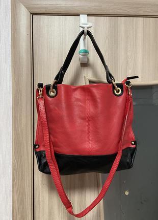 Кожаная сумка pelle