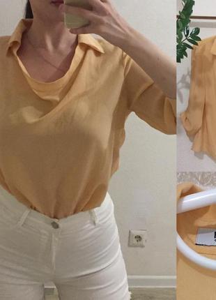 Блуза moschino чистейший шелк