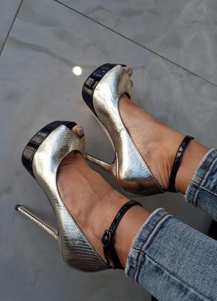 Туфли medea, натур. кожа.
