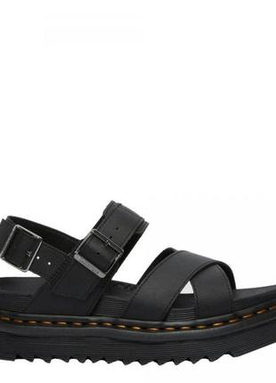 Dr martens мартенс мартенсы voss strap сандалии сандали кожаные