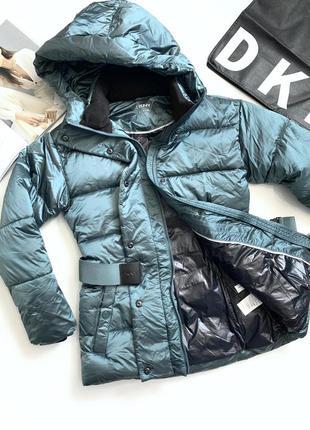 Куртка зимня жіноча dkny куртка женская донна каран нью йорк оригінал