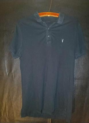 Классическая футболка поло allsaints