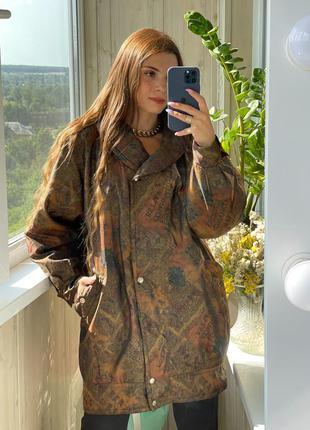 Стильная удлиненная куртка 1+1=3