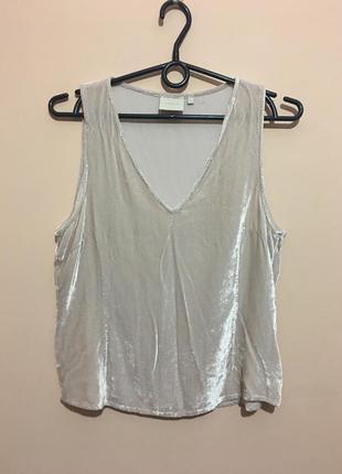 Нежнейшая плюшевая блуза franza с шелком