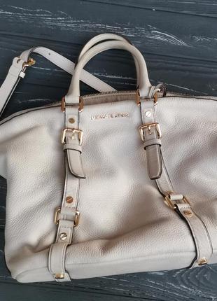 Шикарная большая кожаная сумка сумка, оригинал!