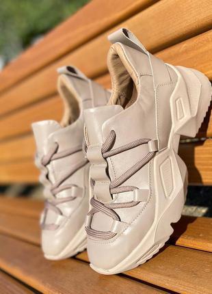 Кросівки натуральна шкіра