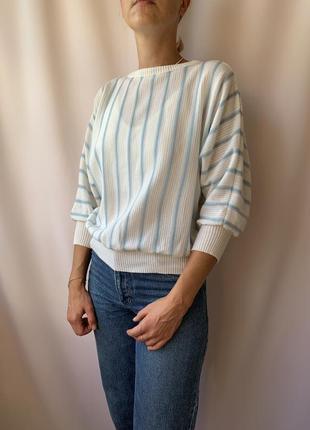 Вінтажний легкий светр