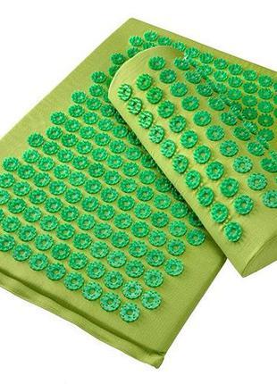 Набор массажный коврик валик и чехол