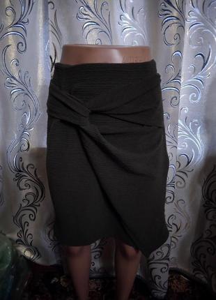 Стильная юбка из фактурной ткани next