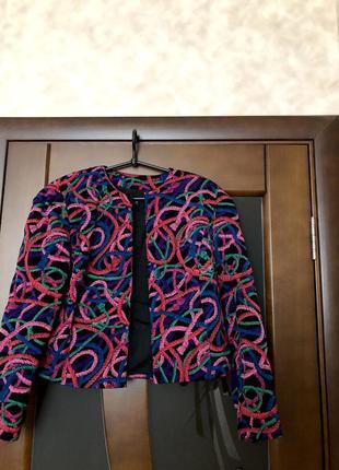 Брендовый блейзер fink modell жакет пиджак