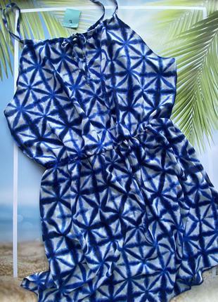 Туника-платье для пляжа