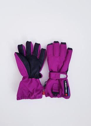Лыжные зимние перчатки краги   lego tec