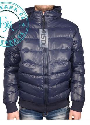 Тёплая куртка для подростка размер l (рост 152/164)