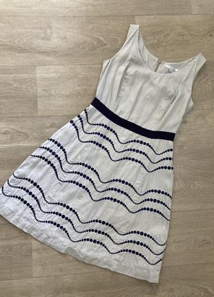 🍀льняное платье лен , boden