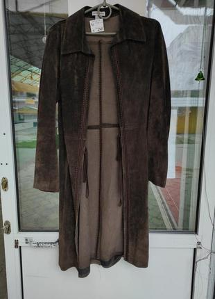 Кардиган пиджак пальто замша