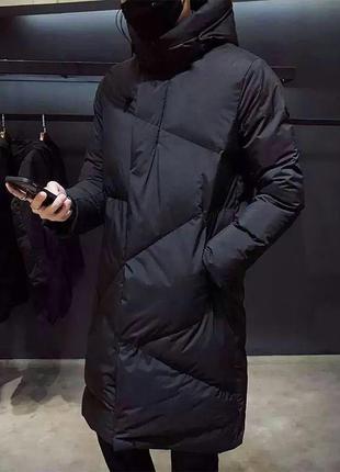 """Куртка мужская  """"geometry """": качественная водоотталкивающая плащевка; утеплитель: термотекс"""