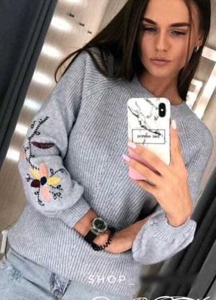 Свитшот, свитер женский.