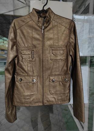 Куртка осенняя кожзам