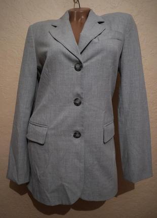 Длинный пиджак l.o.g.g. h&m размер s