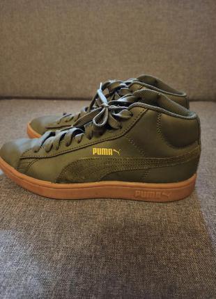 Демисезонные ботинки puma.оригинал